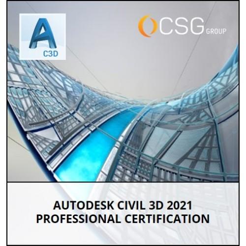 Autodesk Civil 3D Professional Certification