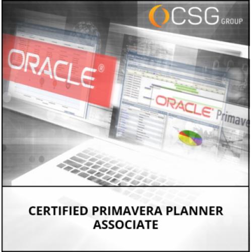 Certified Primavera Planner Associate